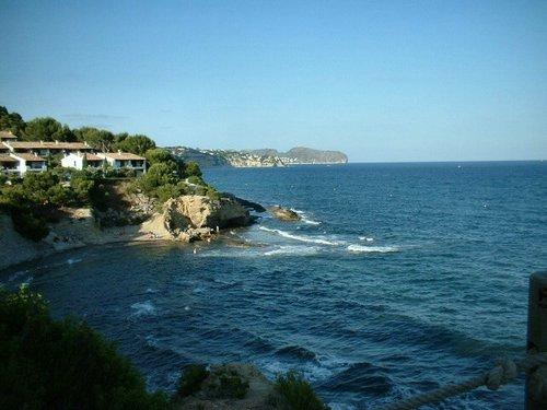 Foto Playa de la Fustera (Benissa) hacia Moraira