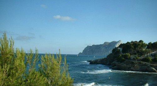 Playa Fustera desde el paseo ecológico (Benissa)