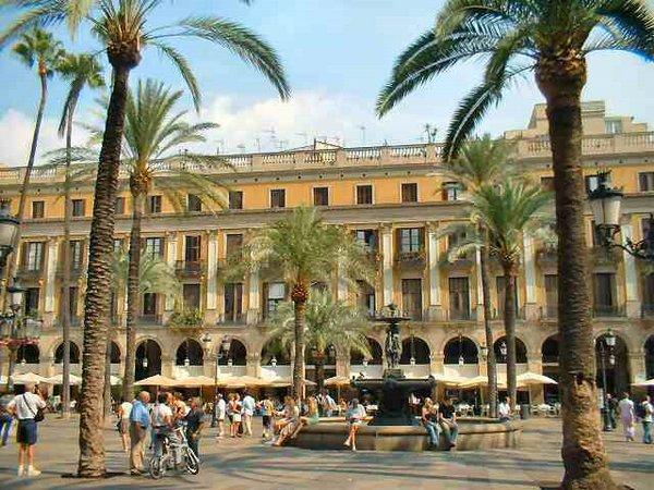 Plaza del Rey, Barcelona