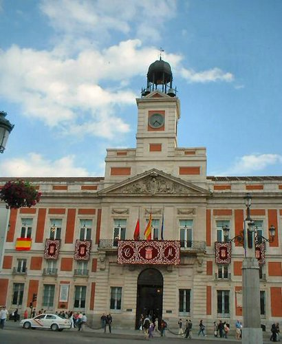 Plazas de madrid for Puerta del sol madrid fotos