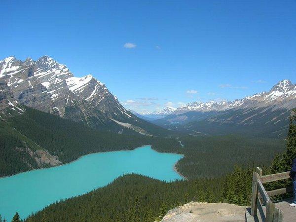 Peyto-Lake Canadá
