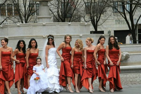 novias damas de honor