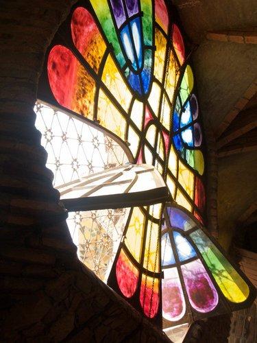 Cripta-Guell-Interior