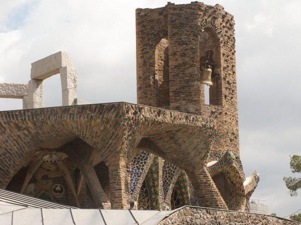 Cripta-Guell-Portico