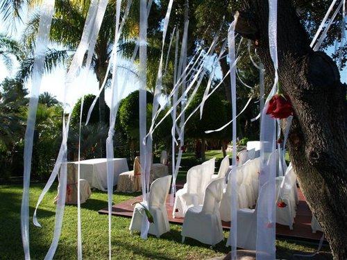 Decoraci n decoraci n de una boda al aire libre - Decoracion de jardines para bodas ...