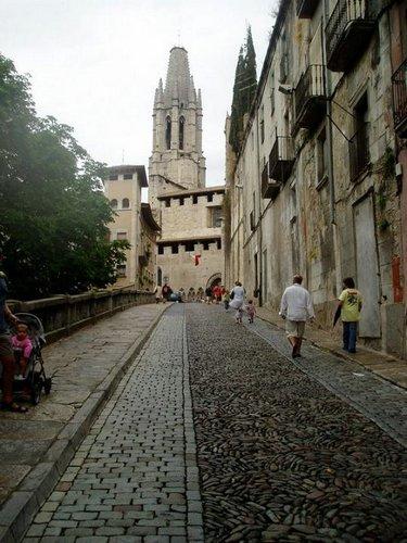 Calles de Girona Foto