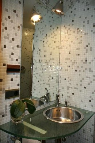 Lograr que un ba o parezca mas grande decoracion en el hogar for Decoracion de interiores para bano