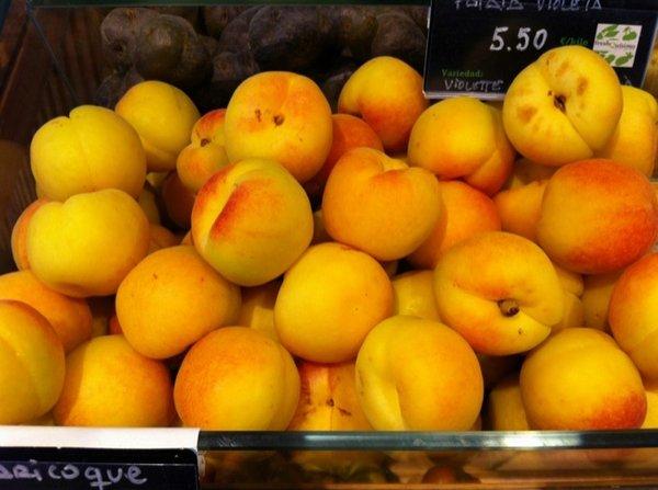 Fotos de Frutas: Albaricoques