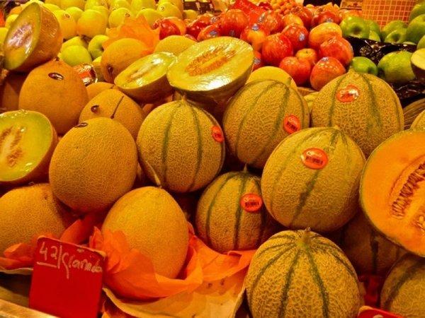 Fotos de Frutas: Melones