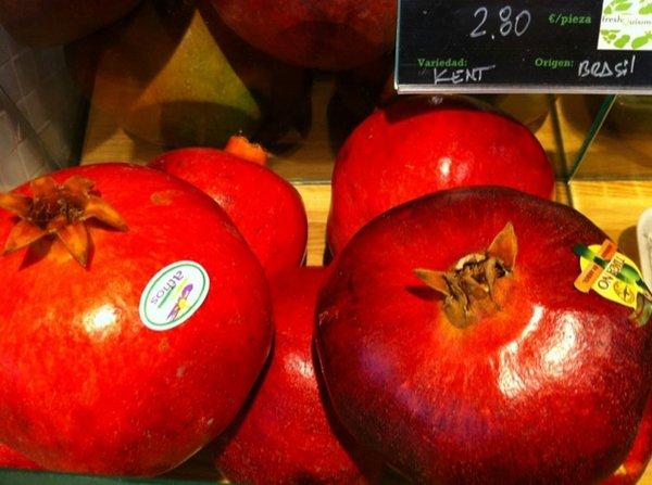 Fotos de Frutas: Granadas