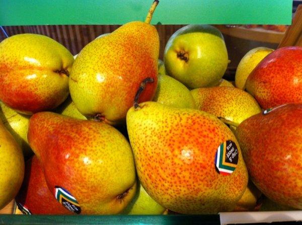 Fotos de Frutas: Peras