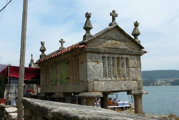 Horreo en Combarro Pontevedra