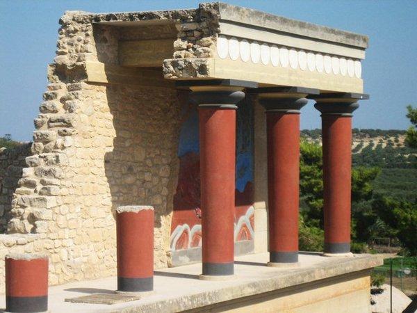 Palacio-de-Knossos