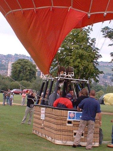 Fotos volar en globo