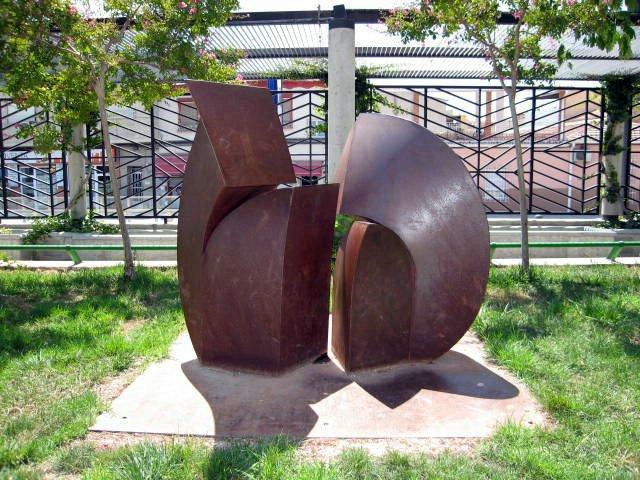 Escultura del museo al aire libre de Ceutí