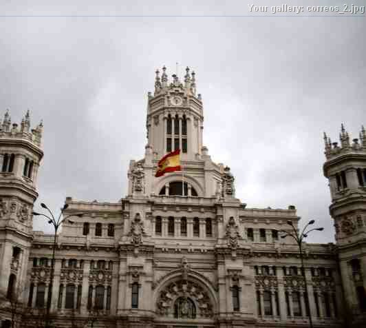 Foto edificio correos madrid for Edificio de correos madrid
