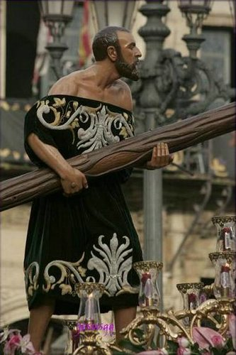 El Cirineo, procesión de León