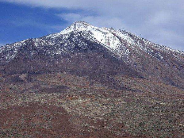 Neiges éternelles sur le Teide, Ténérife