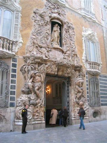 Palacio de dos aguas Valencia