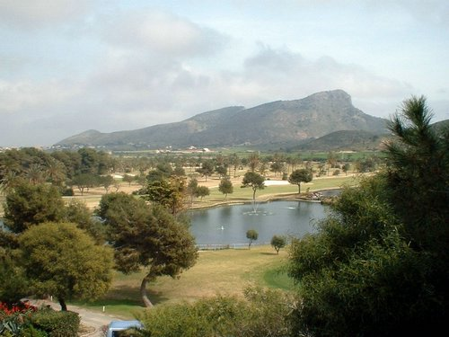 Hyatt golf course, Murcia, Spain
